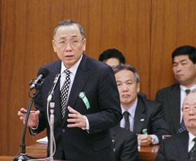 12.03.27】国会招致 AIJ社長、虚...